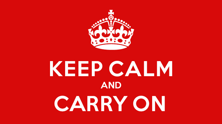 DSE放榜-Keep Calm and Carry On